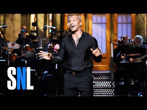 Dwayne Johnson FiveTimers Monologue  SNL
