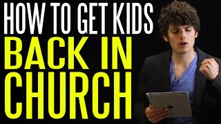 How to Get Millennials Back in Church