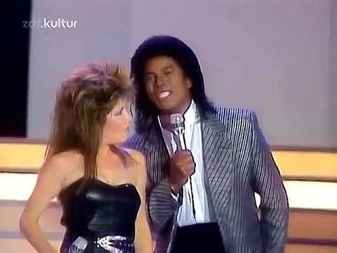 When The Rain Begins To Fall - Jermaine Jackson & Pia Zadora - ( HQ/4K )