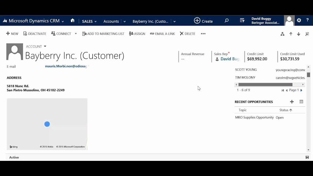 Dashboard Examples in Microsoft Dynamics CRM - YouTube