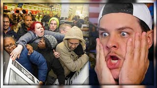 The Crazy People Of Black Friday - Reaction