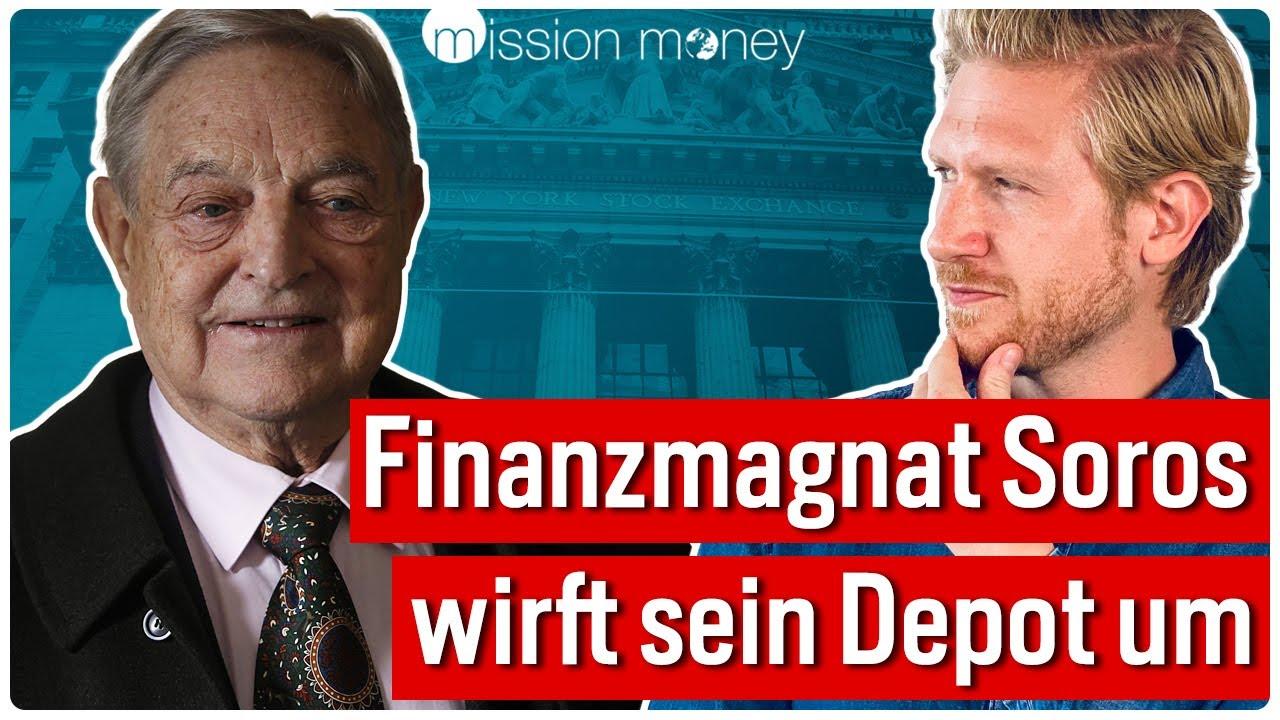 Exklusives Depot: Diese Aktien kauft und shortet George Soros jetzt! // Mission Money