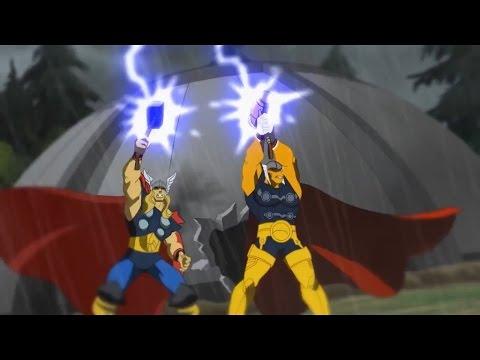 Download Planet Hulk: Thor and Beta Ray Bill vs Kronan