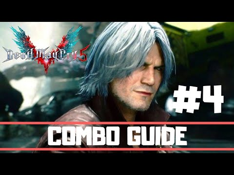 Devil May Cry 5 Dante Combo Guide Part 4 (Devil Sin Sword of Dante) thumbnail