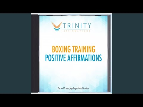 Boxing Training Natural Affirmations