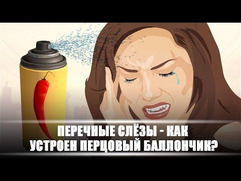 Перечные слёзы – как устроен перцовый баллончик | DeeaFilm