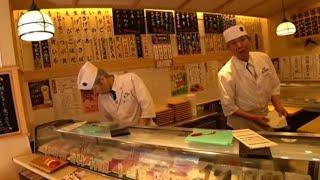 Шок от цен на Суши в Японии! Что едят Японцы? Обзор Суши ресторан Токио Япония!Дром ру Авто Япония!
