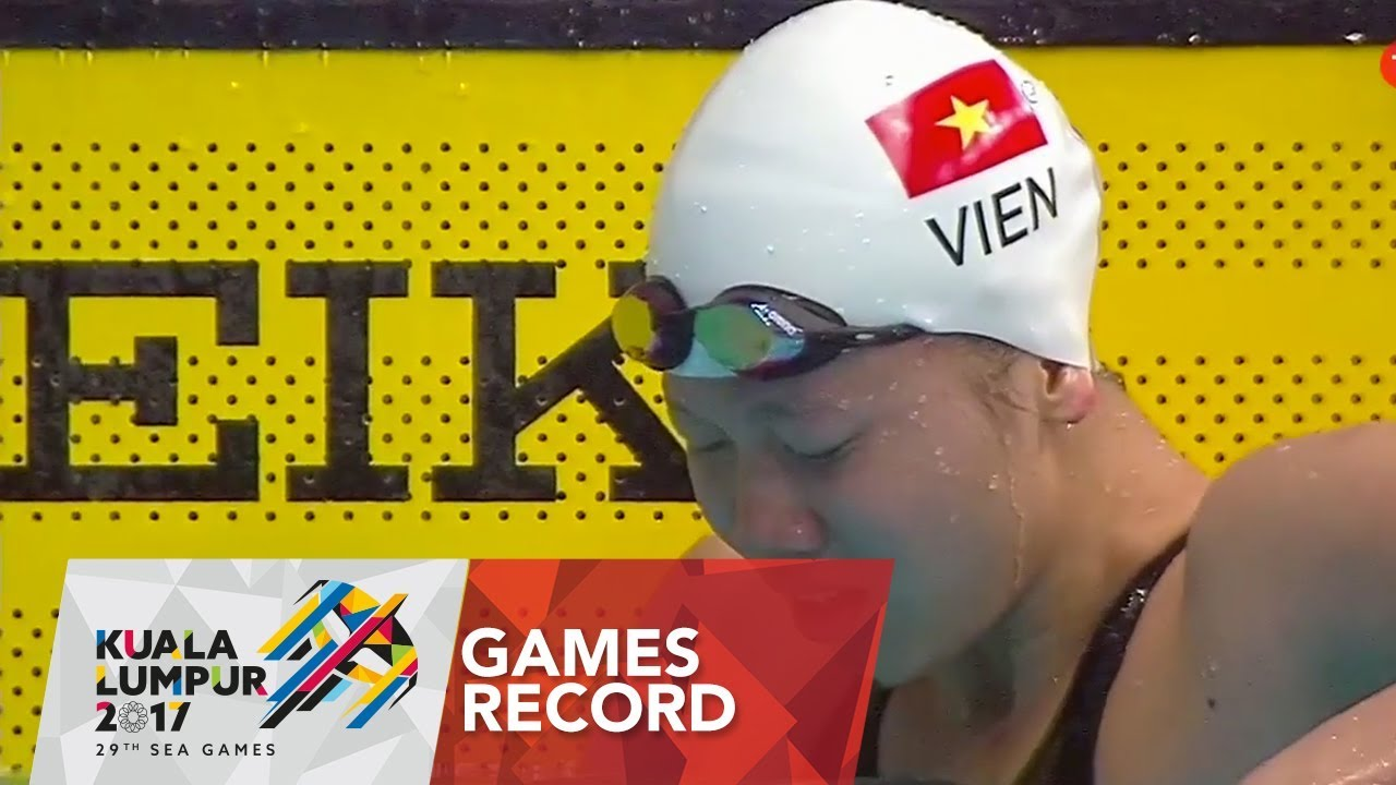 Swimming Women's 100m backstroke | Games Record | 29th SEA ...