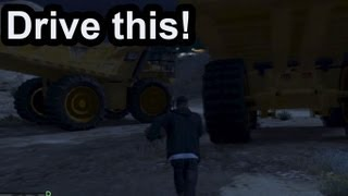 GTA V: How To Steal A Giant Dump Truck