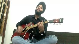 Aise Na Mujhe Tum Dekho || Dil Mein Chhupa Lunga || Wajah Tum Ho || Armaan Malik || Guitar Cover ||