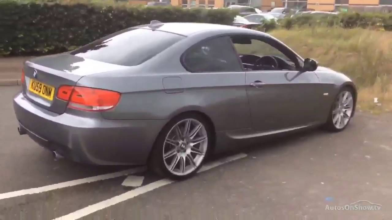 BMW 3 SERIES 335D M SPORT HIGHLINE GREY 2009