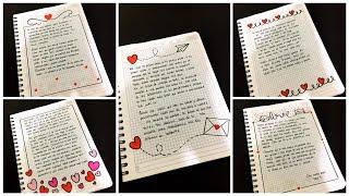 Fotos de cartas de amor