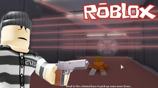 ROBLOX - JAIL BREAK !!! - THEtere A BANK AND I GO TO THE CARCEL