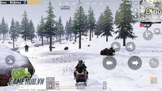 [PUBG Mobile] Map tuyết HOT đã xuất hiện trên điện thoại
