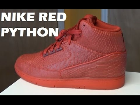 new concept 41257 60eb5 Nike Air Python True Red