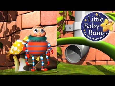 Incy Wincy Spider | Nursery Rhymes | from LittleBabyBum!