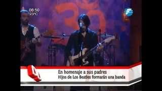 Los hijos de los Beatles forman una banda 05/06/2015 thumbnail