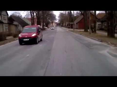 Driving in Estonia / Поездка в Эстонии