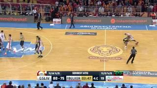 Galatasaray Liv Hospital - Fenerbahçe Ülker Maç Özeti Türkiye Basketbol Ligi