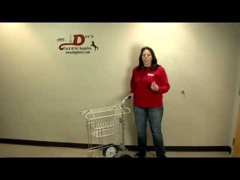 Product tour of the Rolling Basket Dolly