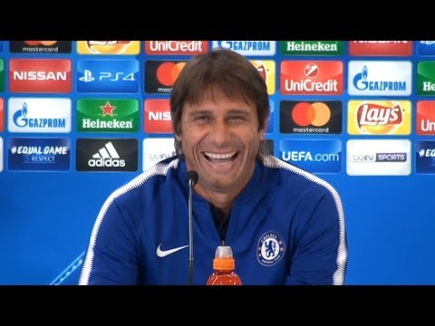 Antonio Conte Full Pre-Match Press Conference - Atletico Madrid v Chelsea - Champions League