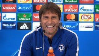 Antonio Conte Full Pre-Match Press Conference - Atletico Madrid v Chelsea - Champions League