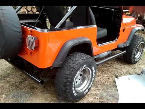 Jeep wrangler yj chevy 383 stroker motor with 3500 youtube jeep wrangler yj chevy 383 stroker motor with 3500 malvernweather Image collections