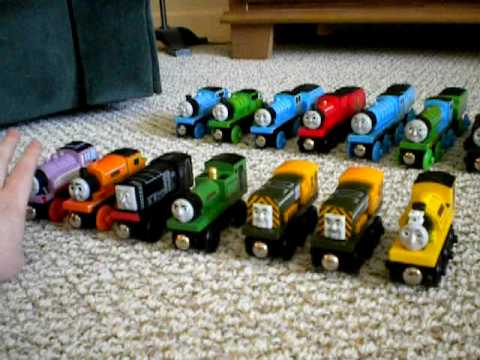 My Wooden Train Collection Thomas The Tank Engine