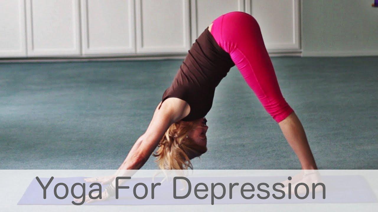 posture yoga depression