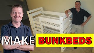 Woodworking For Everyone: Bunkbeds High Speed Assembly