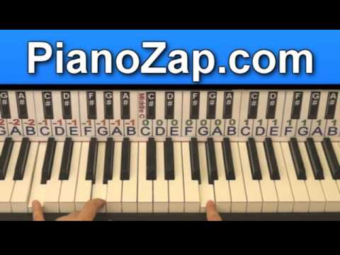 How To Play I Was Here Beyonce On Piano Tutorial Youtube
