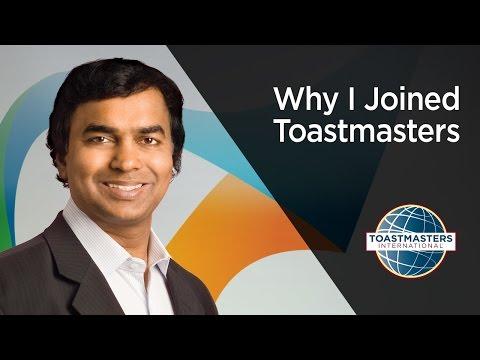 Gopi Kallayil: Why I Joined Toastmasters