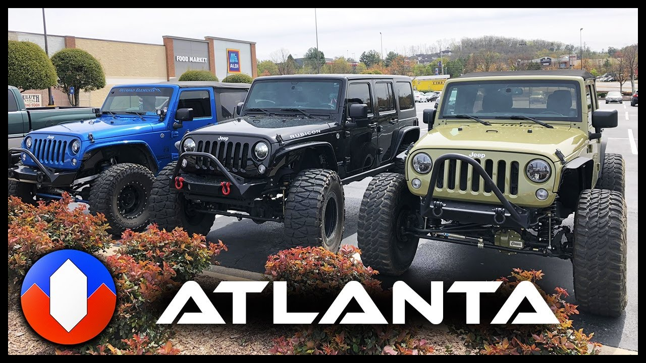 Jeeps In Atlanta Youtube