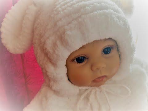 АНОНС (СКОРО СВЯЖЕМ ВМЕСТЕ) с капюшоном комбинезон спицами для новорожденного ребёнка