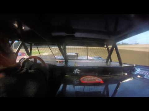 Pro Stock Heat Race #3 Sharon Speedway 8/27/16 IN-CAR