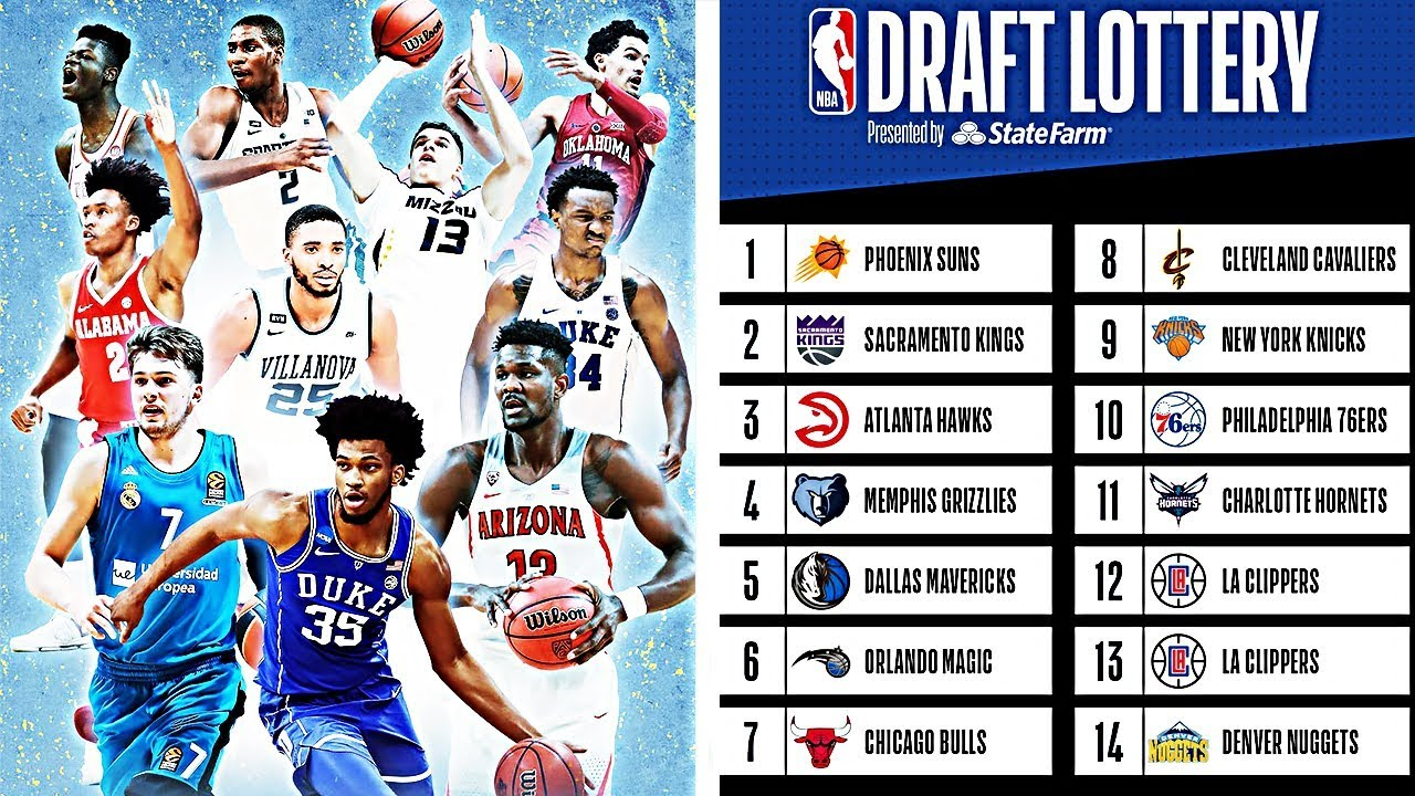 Top 10 Picks In The 2018 NBA Draft ...