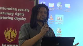 SAHRC Communications Coordinator Gushwell Brooks on Freedom of Association, assembly & expression