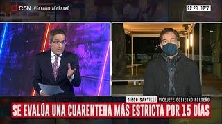 """Diego Santilli: """"El jueves veremos qué medidas tomar para bajar la movilidad en el AMBA"""""""
