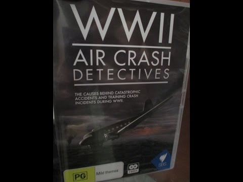 WWII Air Crash Detectives Trailer DVD