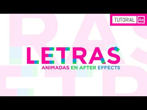 Letras Animadas - Tutorial After Effects