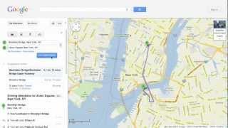 Biking Directions in Google Maps Free HD Video