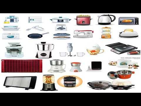 electric-appliances-names-|-electronic-items-|-electronics-names-|-household-appliances-|-kids-tv