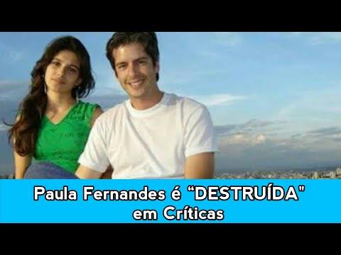 Paula Fernandes foi críticada ao homenagear o cantor Victor da dupla Vitor e Leo
