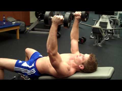 How To:  Dumbbell Flys On An Incline Bench