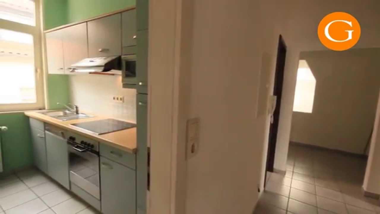 Wohnung in Alfeld Dachgeschoss Einbauküche - YouTube