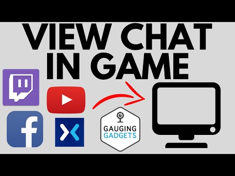 How To View Chat In Game With One Monitor - Twitch, YouTube, Facebook, Mixer