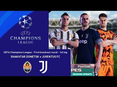 eFOOTBALL PES 2021 UEFA JUVENTUS FC vs SHAKHTAR DONETSK |