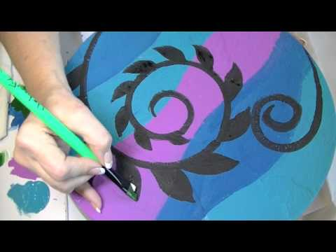 Painting Stepping Stones Part 1