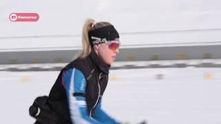 Юниорская сборная команда РФ по биатлону на Камчатке
