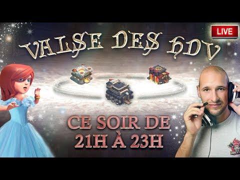 🔴 Valse des HDV | UN CONCEPT HORS DU COMMUN | Clash of clans